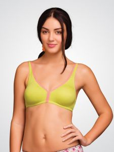 V Star Medium Coverage Seamless Molded Knit Bra - Jane