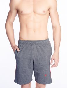V Star Mens Cotton Charcoal Shorts & 3/4ths