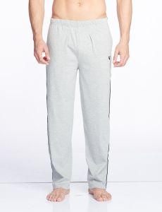 V Star Mens Cotton Grey Track Pant