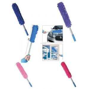 Flomaster Multipurpose Microfiber Cleaning Duster Long - Assorted Colors - Product Code - (wv0012486)