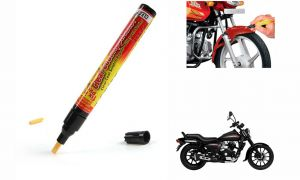 Spidy Moto Auto Smart Coat Paint Scratch Repair Remover Touch Up Pen For Bajaj Avenger 220 Street