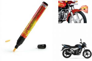 Spidy Moto Auto Smart Coat Paint Scratch Repair Remover Touch Up Pen For Bajaj Discover 100 T