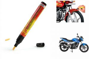 Spidy Moto Auto Smart Coat Paint Scratch Repair Remover Touch Up Pen For Bajaj Discover 125 St