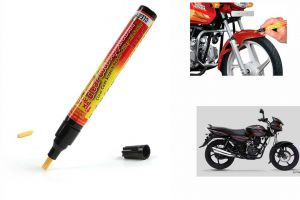 Spidy Moto Auto Smart Coat Paint Scratch Repair Remover Touch Up Pen For Bajaj Discover 125
