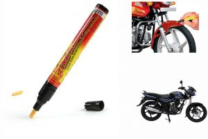 Spidy Moto Auto Smart Coat Paint Scratch Repair Remover Touch Up Pen For Bajaj Discover 150 Dts-i