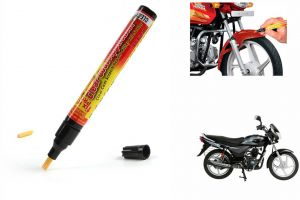 Spidy Moto Auto Smart Coat Paint Scratch Repair Remover Touch Up Pen For Bajaj Platina 100