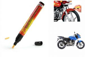 Spidy Moto Auto Smart Coat Paint Scratch Repair Remover Touch Up Pen For Bajaj Pulsar 180 Dts-i