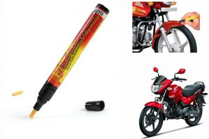 Spidy Moto Auto Smart Coat Paint Scratch Repair Remover Touch Up Pen For Hero Motocorp Glamour Programmed Fi