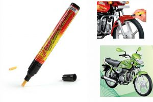 Spidy Moto Auto Smart Coat Paint Scratch Repair Remover Touch Up Pen For Hero Motocorp Hf Deluxe Eco