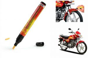 Spidy Moto Auto Smart Coat Paint Scratch Repair Remover Touch Up Pen For Hero Motocorp Hf Deluxe