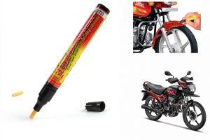 Spidy Moto Auto Smart Coat Paint Scratch Repair Remover Touch Up Pen For Hero Motocorp Passion Pro Tr