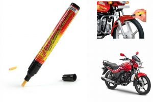 Spidy Moto Auto Smart Coat Paint Scratch Repair Remover Touch Up Pen For Hero Motocorp Passion Xpro