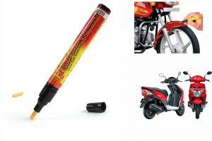 Spidy Moto Auto Smart Coat Paint Scratch Repair Remover Touch Up Pen For Honda Dio