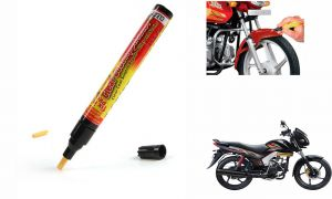 Spidy Moto Auto Smart Coat Paint Scratch Repair Remover Touch Up Pen For Mahindra Centuro Disc Brake