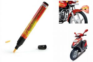 Spidy Moto Auto Smart Coat Paint Scratch Repair Remover Touch Up Pen For Mahindra Scooter Duro Dz