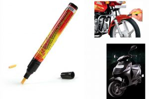 Spidy Moto Auto Smart Coat Paint Scratch Repair Remover Touch Up Pen For Mahindra Scooter Kine