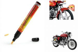 Spidy Moto Auto Smart Coat Paint Scratch Repair Remover Touch Up Pen For Royal Enfield Caf Racer Continental Gt