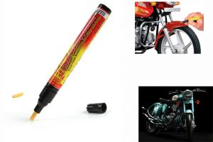 Spidy Moto Auto Smart Coat Paint Scratch Repair Remover Touch Up Pen For Royal Enfield Retro Street Classic 350