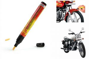 Spidy Moto Auto Smart Coat Paint Scratch Repair Remover Touch Up Pen For Royal Enfield Standard Street Bullet Electra 350