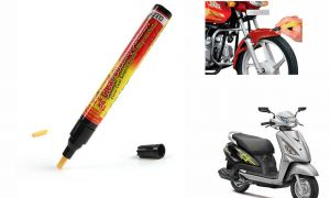 Spidy Moto Auto Smart Coat Paint Scratch Repair Remover Touch Up Pen For Suzuki Swish 125 Facelift