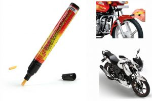 Spidy Moto Auto Smart Coat Paint Scratch Repair Remover Touch Up Pen For Tvs Apache Rtr 160