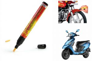 Spidy Moto Auto Smart Coat Paint Scratch Repair Remover Touch Up Pen For Tvs Zest