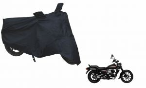 Spidy Moto Sporty Champion Bike Body Cover Water Proof Black - Bajaj Avenger 220 Street