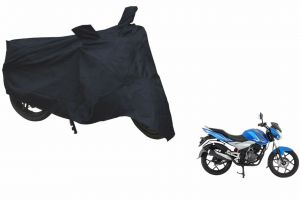 Spidy Moto Sporty Champion Bike Body Cover Water Proof Black - Bajaj Discover 125 St