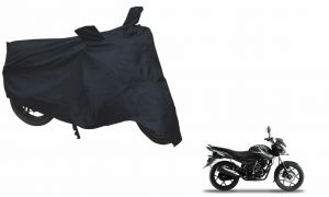 Spidy Moto Sporty Champion Bike Body Cover Water Proof Black - Bajaj Discover 150s