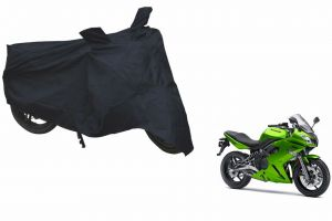 Spidy Moto Sporty Champion Bike Body Cover Water Proof Black - Bajaj Ninja 650r