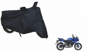 Spidy Moto Sporty Champion Bike Body Cover Water Proof Black - Bajaj Pulsar As150