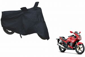 Spidy Moto Sporty Champion Bike Body Cover Water Proof Black - Hero Motocorp Karizma Zmr New