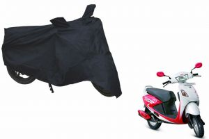 Spidy Moto Sporty Champion Bike Body Cover Water Proof Black - Hero Motocorp Pleasure