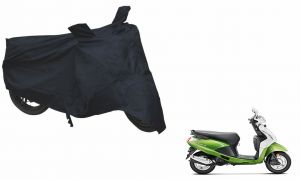 Spidy Moto Sporty Champion Bike Body Cover Water Proof Black - Hero Pleasure 2014