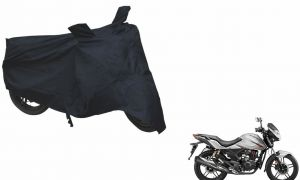 Spidy Moto Sporty Champion Bike Body Cover Water Proof Black - Hero Xtreme 2014