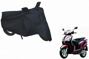 Spidy Moto Sporty Champion Bike Body Cover Water Proof Black - Honda Avaitor