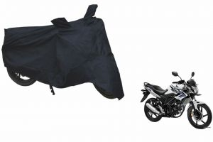 Spidy Moto Sporty Champion Bike Body Cover Water Proof Black - Honda Cb Trigger