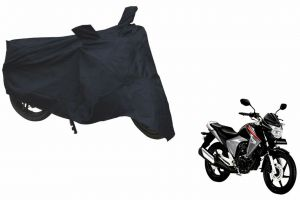 Spidy Moto Sporty Champion Bike Body Cover Water Proof Black - Honda Cb Unicorn Dazzler