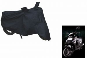 Spidy Moto Sporty Champion Bike Body Cover Water Proof Black - Mahindra Scooter Kine