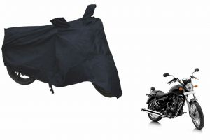 Spidy Moto Sporty Champion Bike Body Cover Water Proof Black - Royal Enfield Cruiser Thunderbird 500