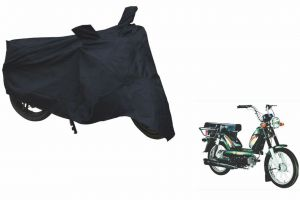 Spidy Moto Sporty Champion Bike Body Cover Water Proof Black - Tvs Heavy Duty Super Xl