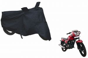 Spidy Moto Sporty Champion Bike Body Cover Water Proof Black - Tvs Jive