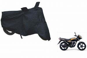Spidy Moto Sporty Champion Bike Body Cover Water Proof Black - Tvs Star City