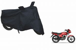 Spidy Moto Sporty Champion Bike Body Cover Water Proof Black - Tvs Star Sport