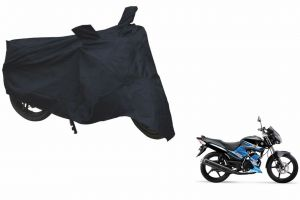 Spidy Moto Sporty Champion Bike Body Cover Water Proof Black - Yamaha Ss125