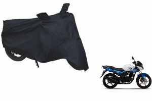 Spidy Moto Sporty Champion Bike Body Cover Water Proof Black - Yamaha Sz-rr Blue Core