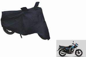 Spidy Moto Sporty Champion Bike Body Cover Water Proof Blue - Bajaj Discover 100 M