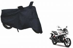 Spidy Moto Sporty Champion Bike Body Cover Water Proof Blue - Hero Motocorp Ignitor