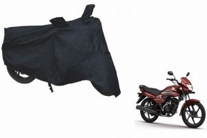 Spidy Moto Sporty Champion Bike Body Cover Water Proof Blue - Honda Dream Yuga