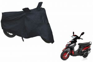 Spidy Moto Sporty Champion Bike Body Cover Water Proof Blue - Mahindra Scooter Rodeo Uzo 125